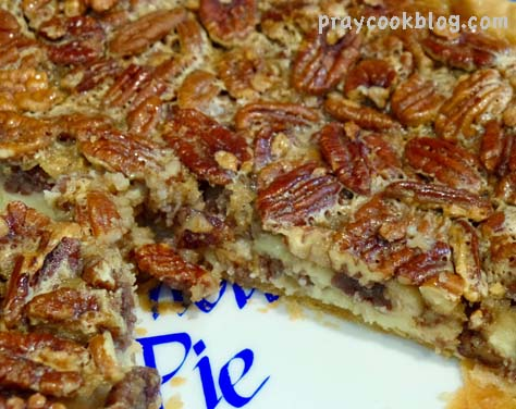 Cheesecake Pecan Pie