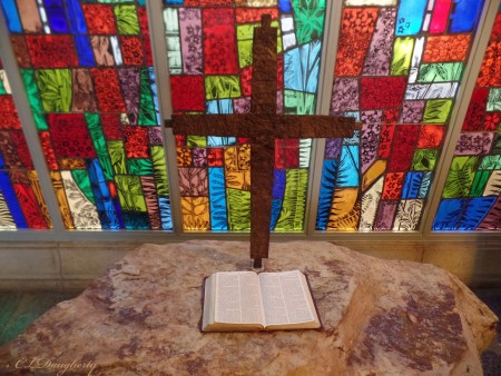 Ida Cason Callaway Memorial Chapel Stone Alter
