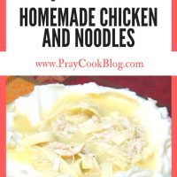 Easy (and Delicious) Homemade Chicken and Noodles