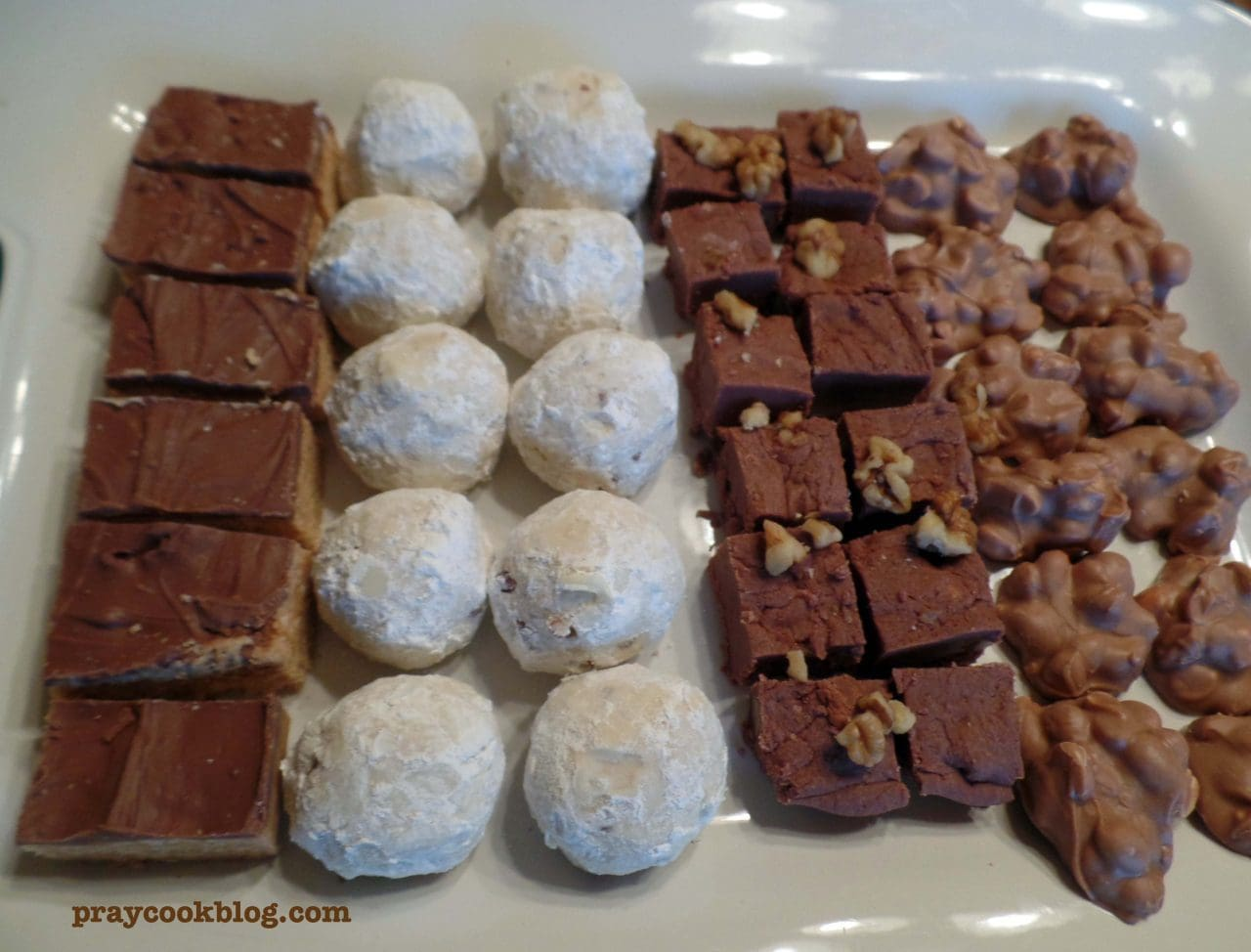 Family, Friends, & Heritage Food: Pecan Puffs, Peanut Clusters, Fudge, Scotch-a-roos