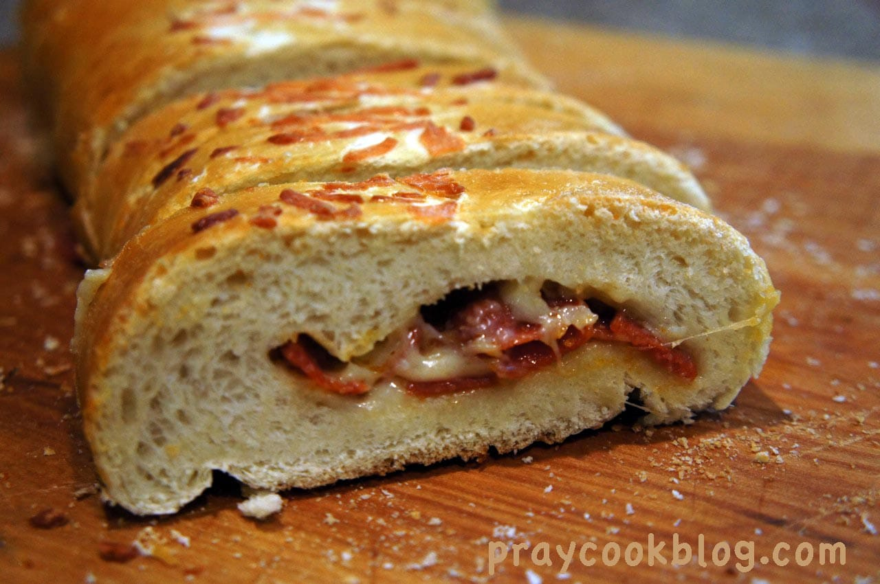 My Nephew's Family-Favorite Pepperoni Bread