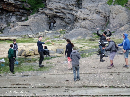 Louisa filming