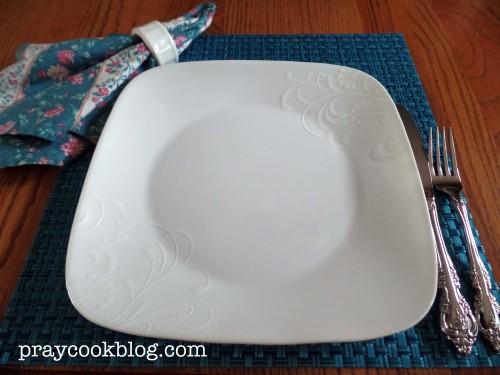 Corelle White on White Dishes