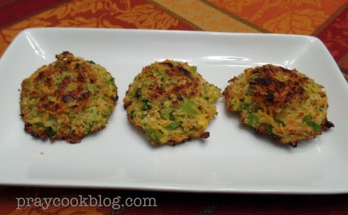 Broccoli Cheese Patties