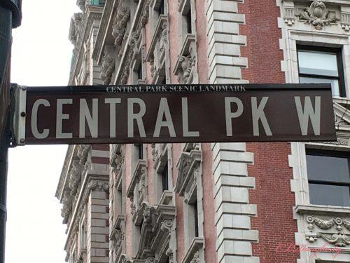 Central Park sign