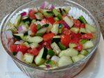 Cucumber & Tomato Salad