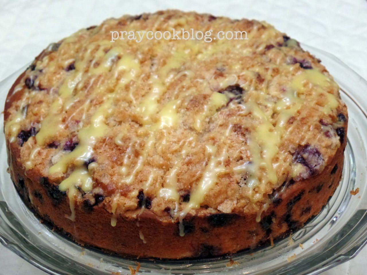 Lemon Blueberry Coffee Cake – Got Blueberries?