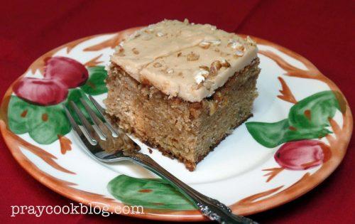 Apple Praline Cake - Fall's Delight!