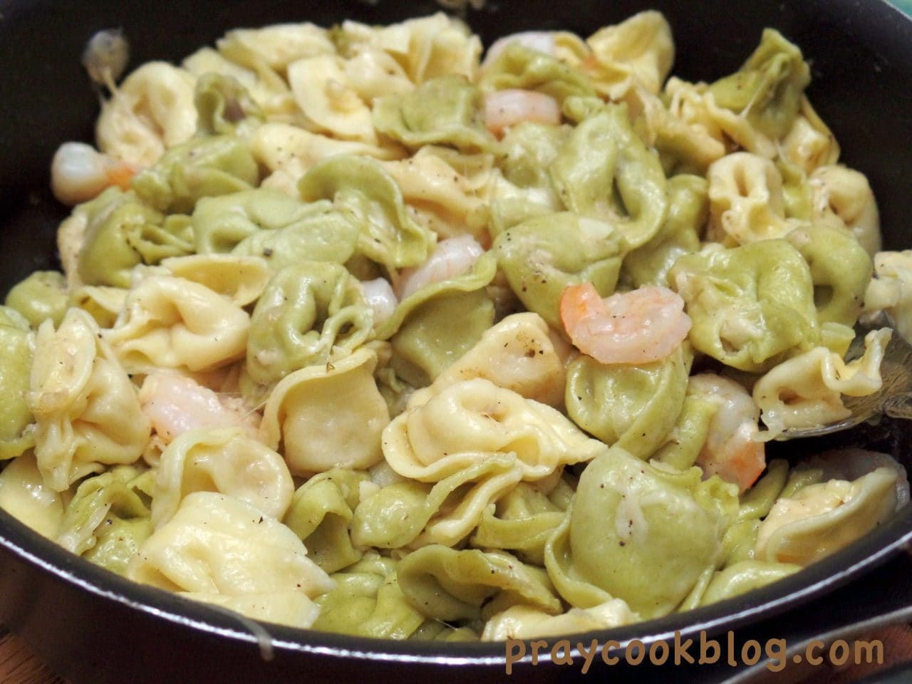 Tortellini and Shrimp