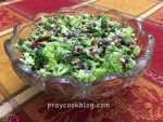 Clean My House or Make Alice's Delicious Broccoli Salad?