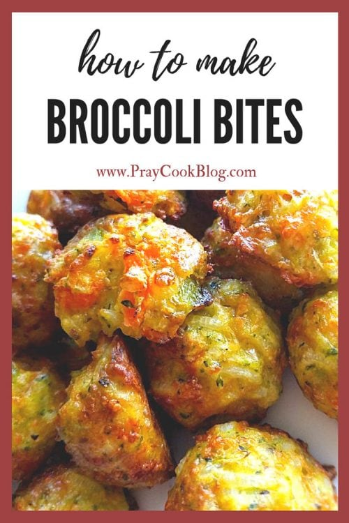 how to make broccoli bites