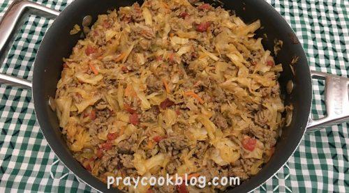 Warm taco slaw recipe