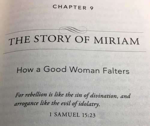 Less than Perfect the story of miriam