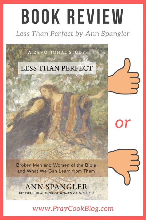 less than perfect book review ann spangler