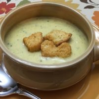 Catherine's Luscious Broccoli Cheese Soup