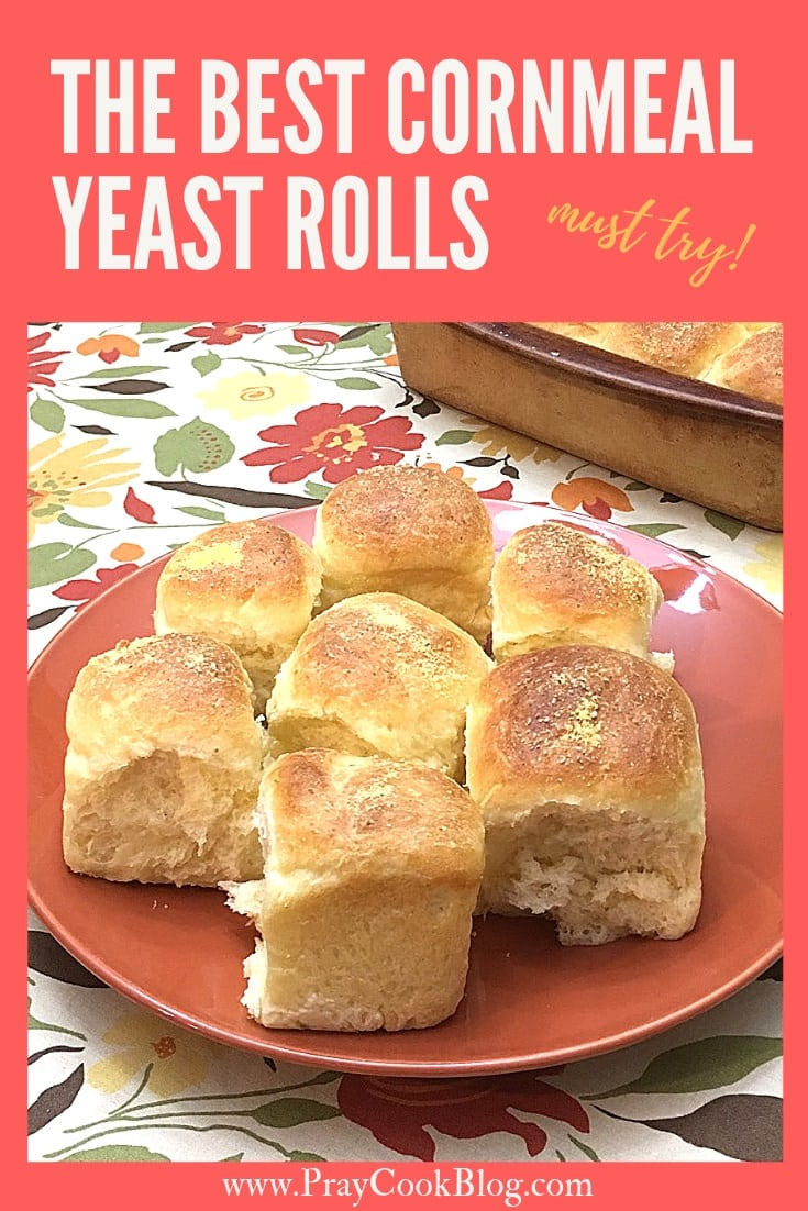 The BEST Cornmeal Yeast Rolls Recipe