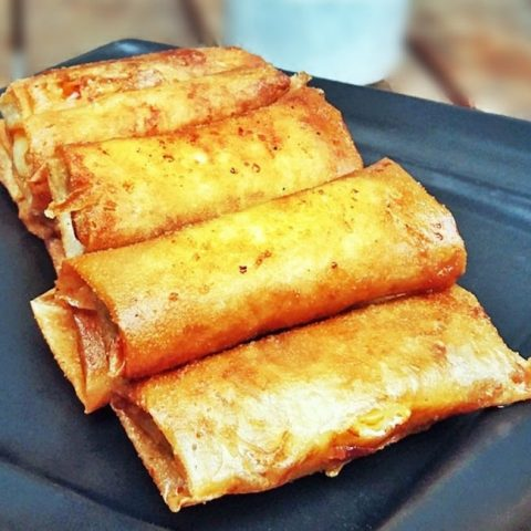 Spring Roll Banana Recipe Feature