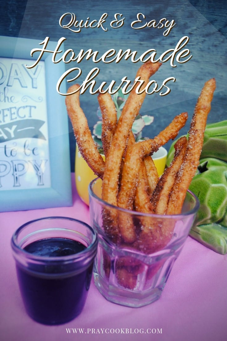 Homemade Churros Featured