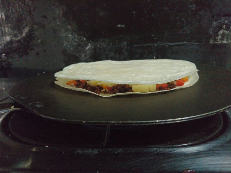 ground pork quesadilla 17