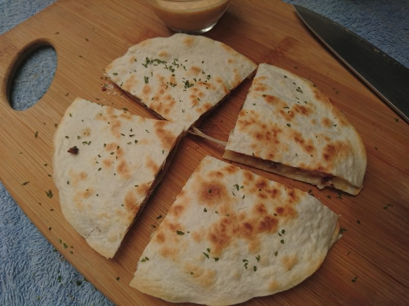 ground pork quesadilla 20