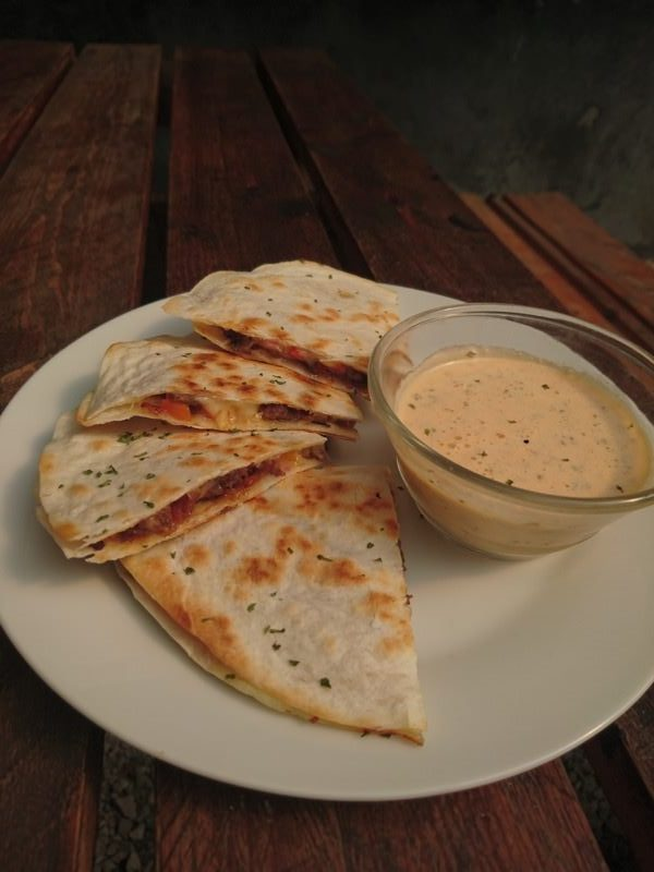 ground pork quesadilla 22