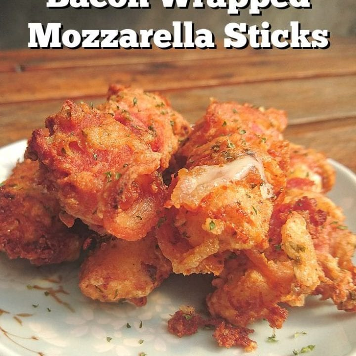 bacon wrapped mozzarella sticks recipe