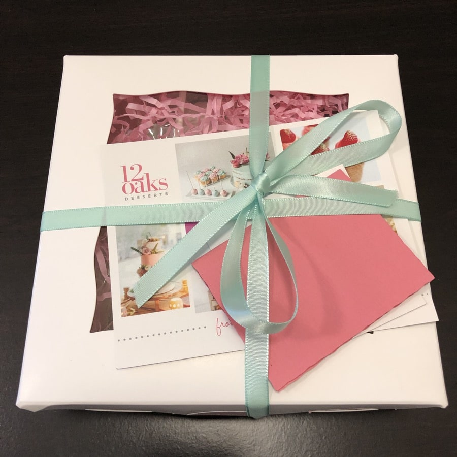 12 oaks desserts package