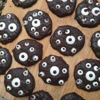 EYE Can See You Chocolate Halloween Cookies