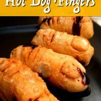 Halloween Hot Dog Fingers