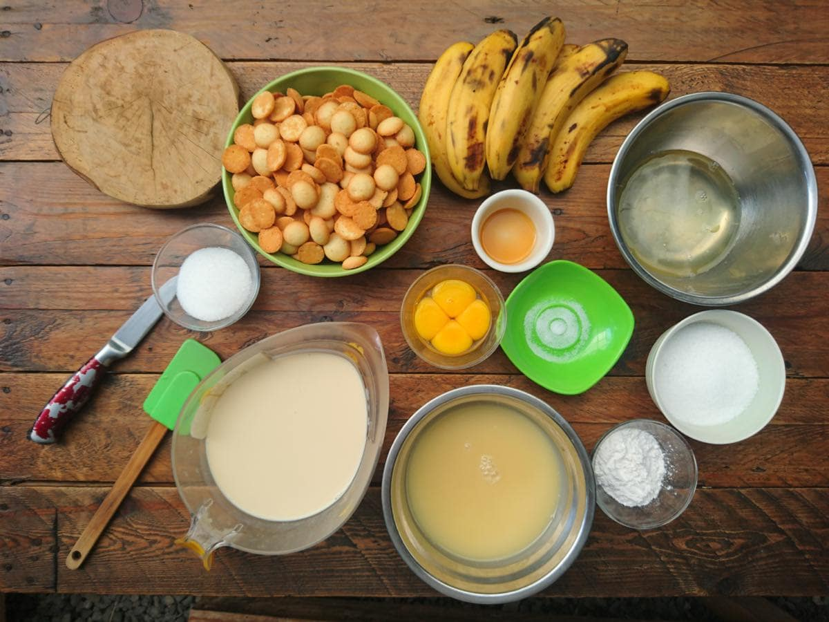 Southern Living Banana Pudding Ingredients
